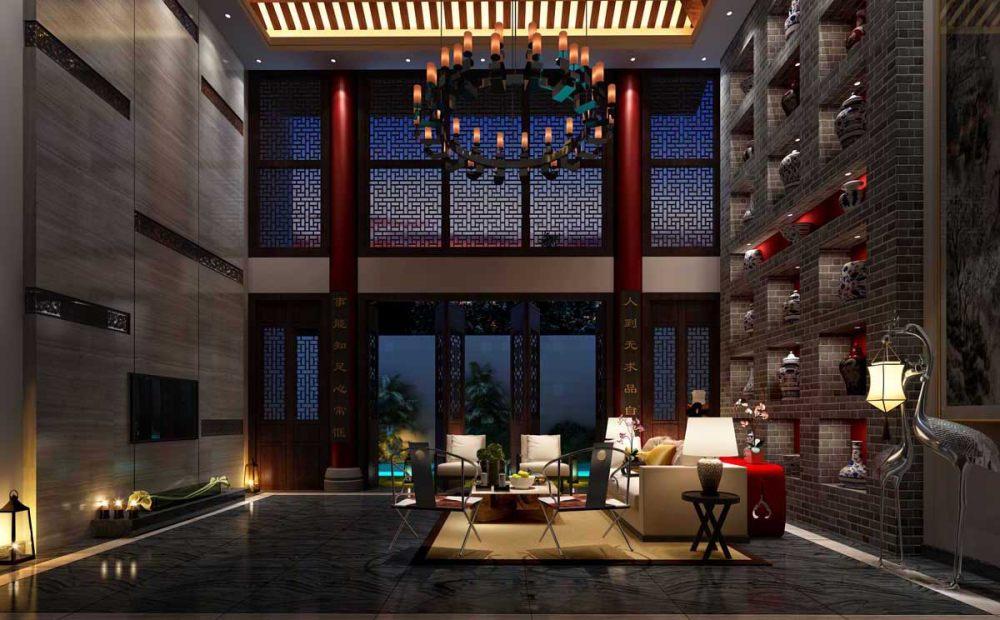 【中式 东南亚风格】 家装效果图 飘逸典雅 高清大图_18.jpg