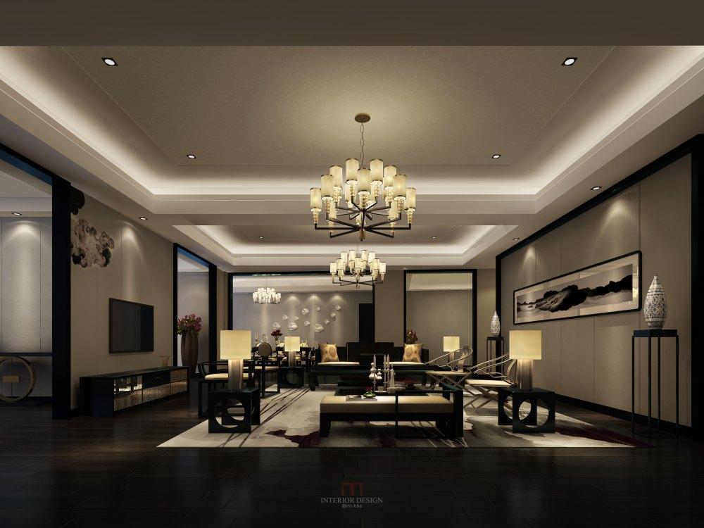【中式 东南亚风格】 家装效果图 飘逸典雅 高清大图_43.jpg
