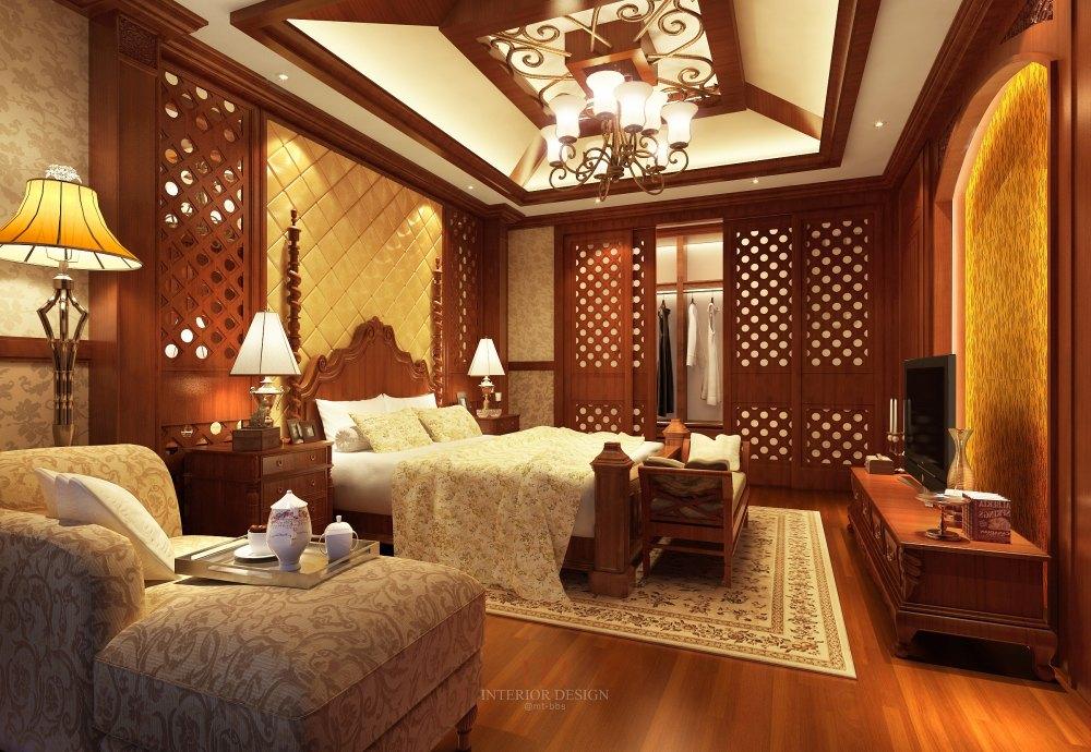 【中式 东南亚风格】 家装效果图 飘逸典雅 高清大图_52.jpg