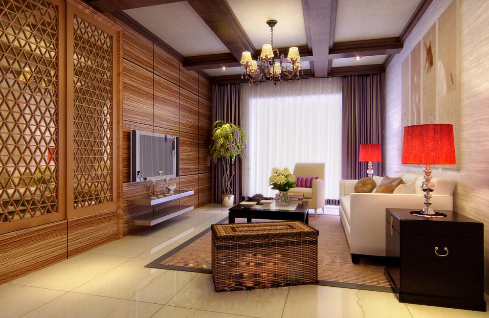 【中式 东南亚风格】 家装效果图 飘逸典雅 高清大图_55.jpg