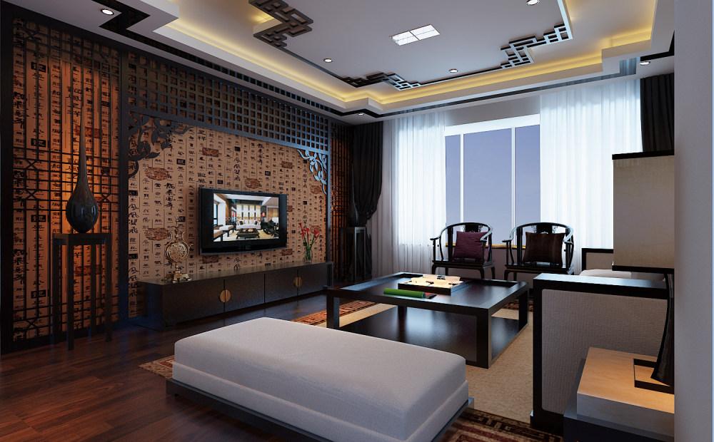 【中式 东南亚风格】 家装效果图 飘逸典雅 高清大图_62-2.jpg