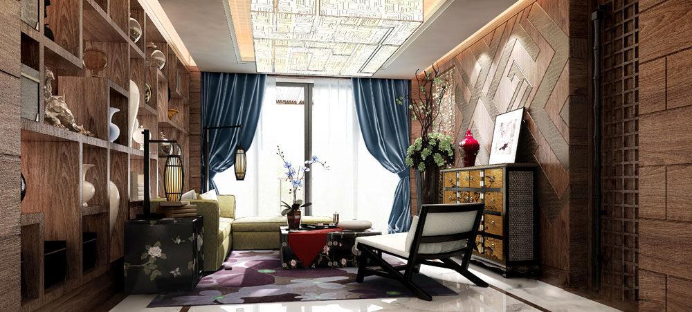 【中式 东南亚风格】 家装效果图 飘逸典雅 高清大图_70-2.jpg