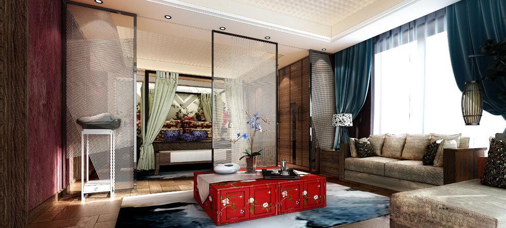 【中式 东南亚风格】 家装效果图 飘逸典雅 高清大图_70-3.jpg