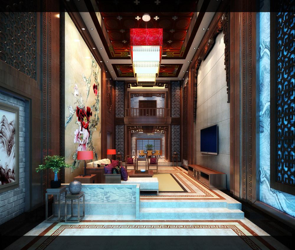 【中式 东南亚风格】 家装效果图 飘逸典雅 高清大图_71.jpg