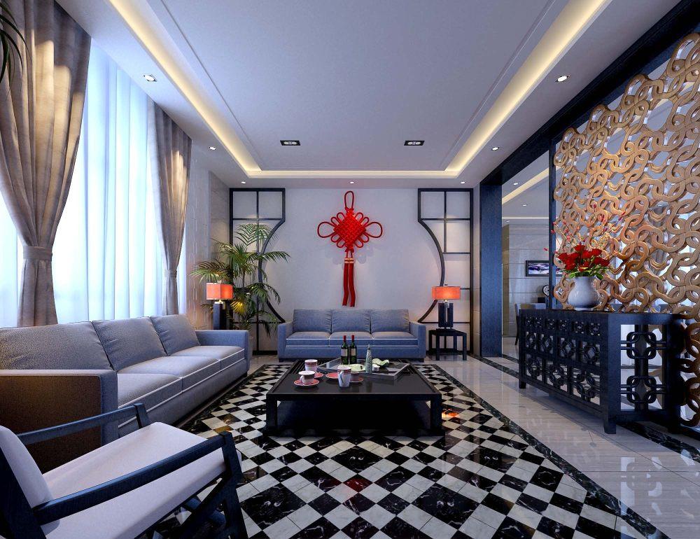 【中式 东南亚风格】 家装效果图 飘逸典雅 高清大图_83.jpg