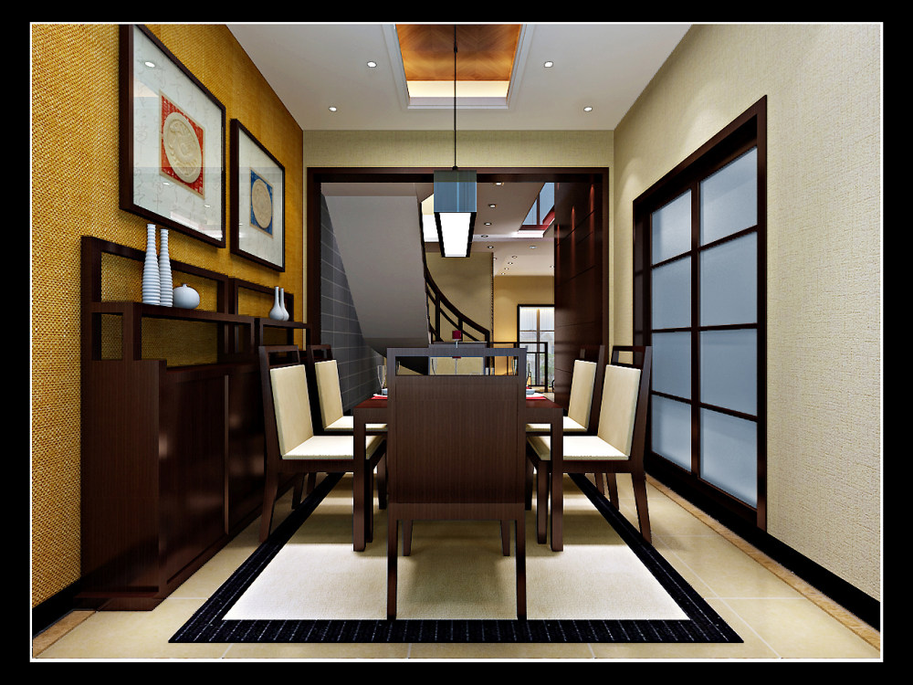 【中式 东南亚风格】 家装效果图 飘逸典雅 高清大图_85-3.jpg