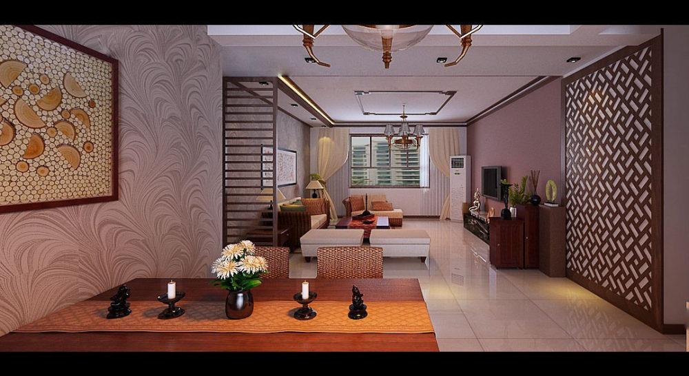 【中式 东南亚风格】 家装效果图 飘逸典雅 高清大图_99-5.jpg