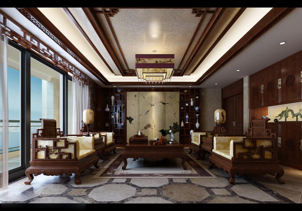【中式 东南亚风格】 家装效果图 飘逸典雅 高清大图_101-2.jpg