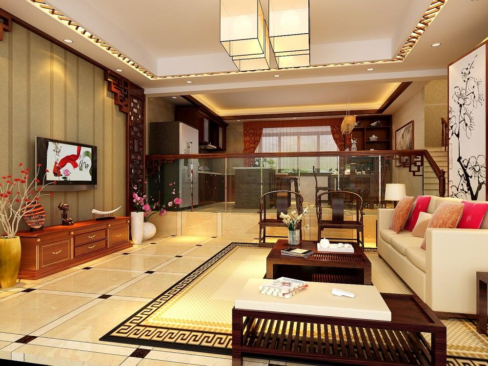 【中式 东南亚风格】 家装效果图 飘逸典雅 高清大图_102-1.jpg
