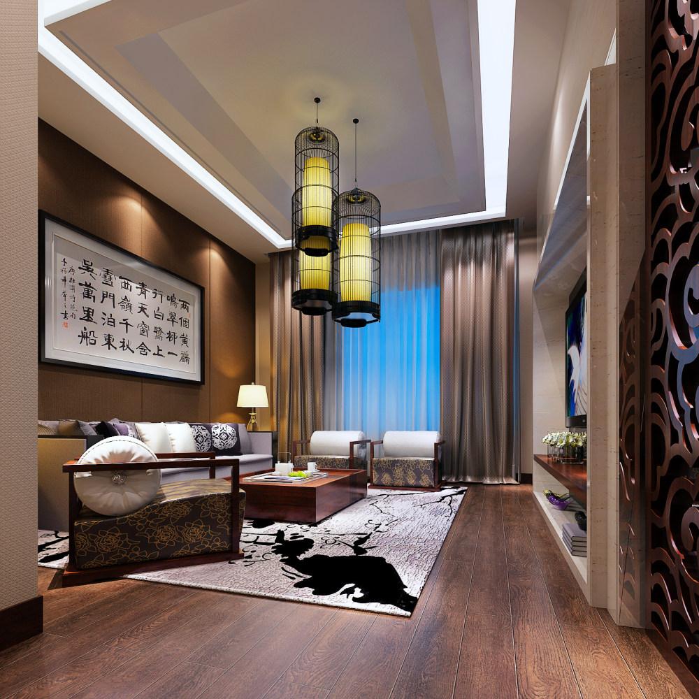 【中式 东南亚风格】 家装效果图 飘逸典雅 高清大图_122-1.jpg