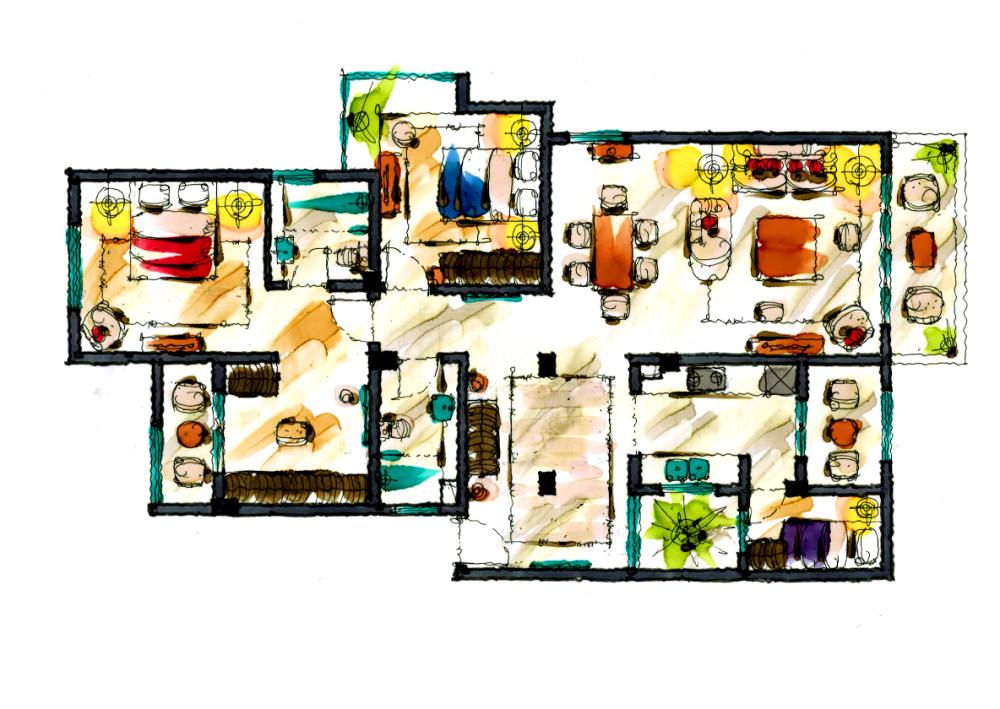 【第二期-住宅平面优化】同一户型19个方案,求投票+点评_2013.09.jpg