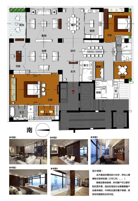【第三期-住宅平面优化】 一个大户型12个方案,求投票+点评_002.jpg