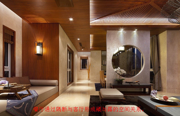 图解琚宾--尚溪地A14中式别墅设计解析_06.餐厨与客厅的走道_副本.jpg