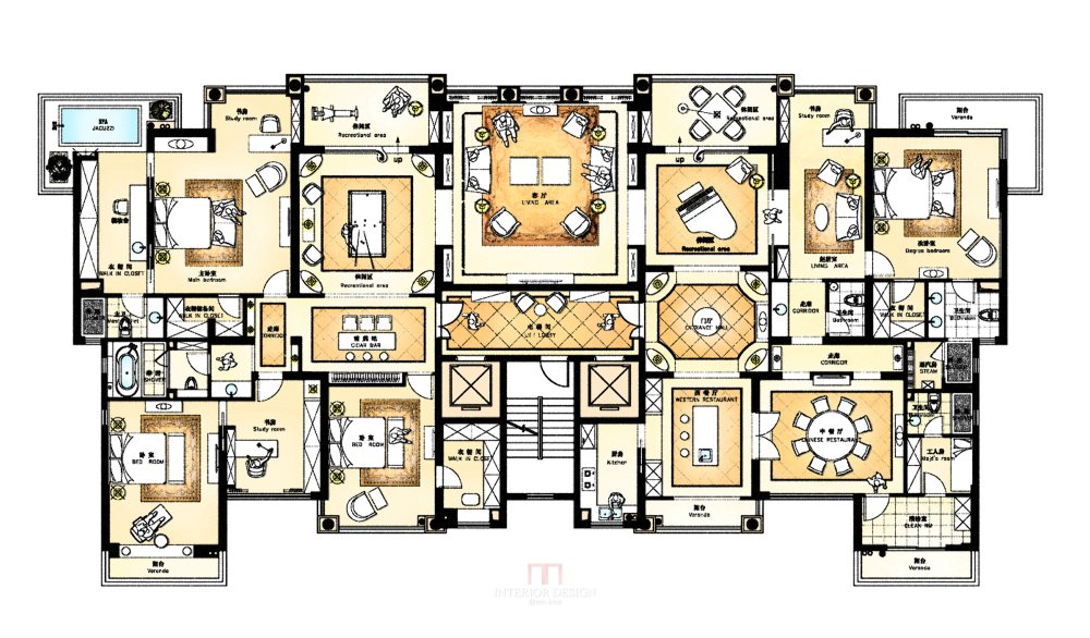 【第五期-住宅平面优化】 两套打通户型16个方案,求投票点评_08.jpg
