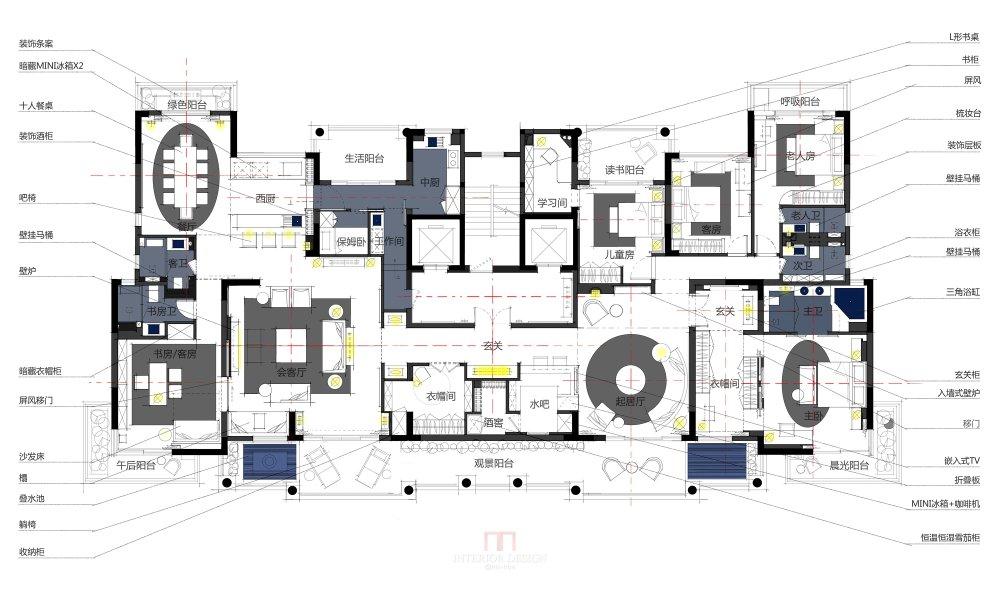 【第五期-住宅平面优化】 两套打通户型16个方案,求投票点评_02.jpg