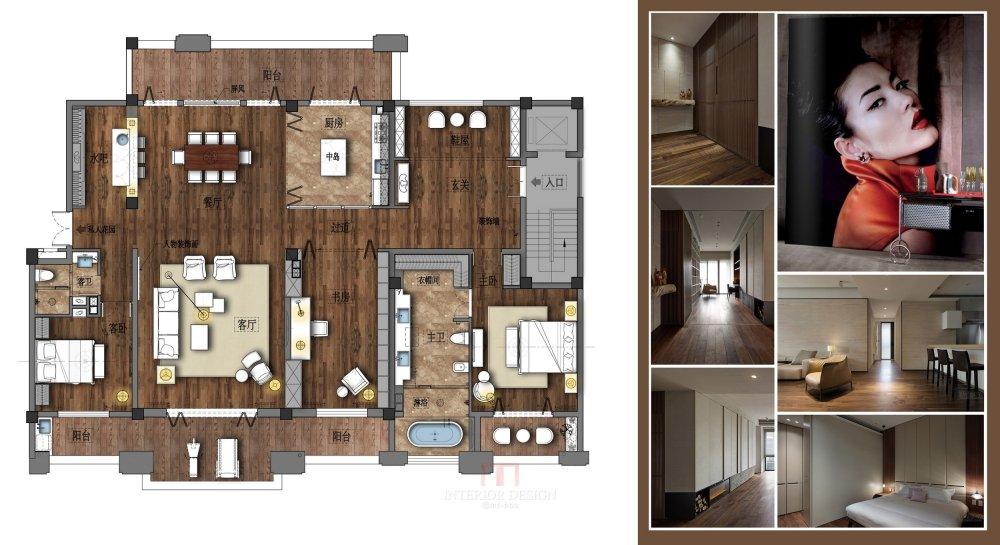 【第七期-住宅平面优化】一个250m²户型12个方案,求投票+点评_05.jpg