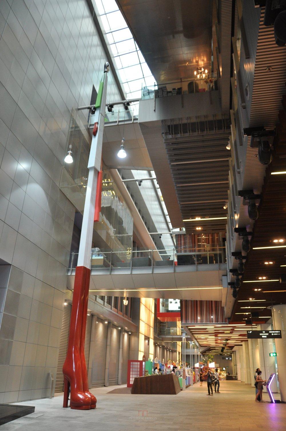 新加坡Orchard Central商业自拍_特色中庭