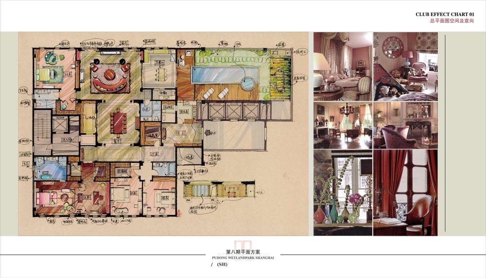 【第八期-住宅平面优化】一个480m²顶层豪宅13个方案 投票奖DB_01-2.jpg