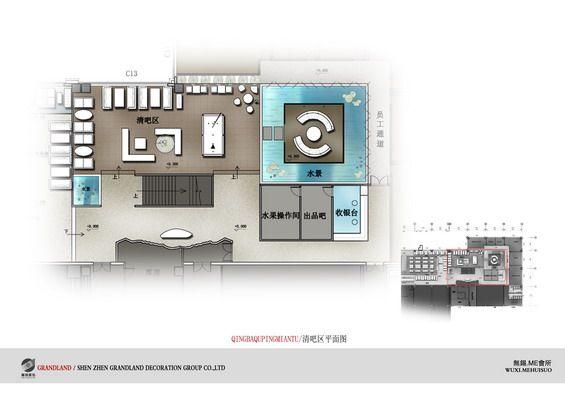 江苏无锡娱乐会所方案设计概念图册_026清吧区平面图.jpg