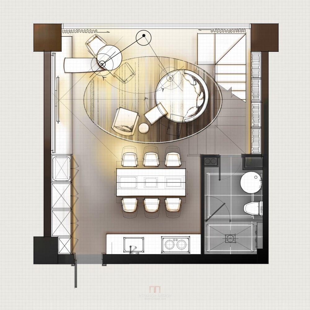 【第九期-住宅平面优化】一个40m²loft户型11个方案 投票奖励DB_05-1.jpg