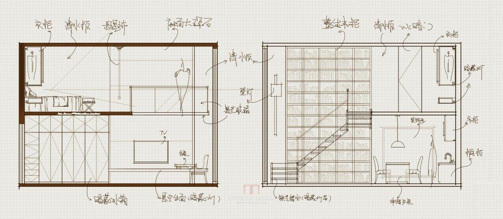 【第九期-住宅平面优化】一个40m²loft户型11个方案 投票奖励DB_05-3.jpg