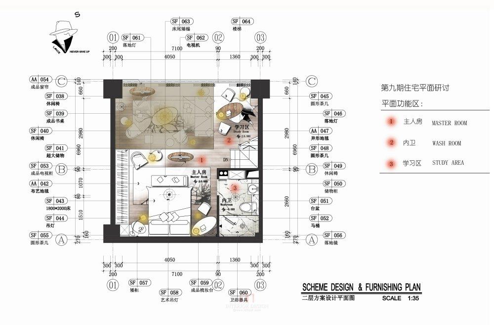 【第九期-住宅平面优化】一个40m²loft户型11个方案 投票奖励DB_06-2.jpg