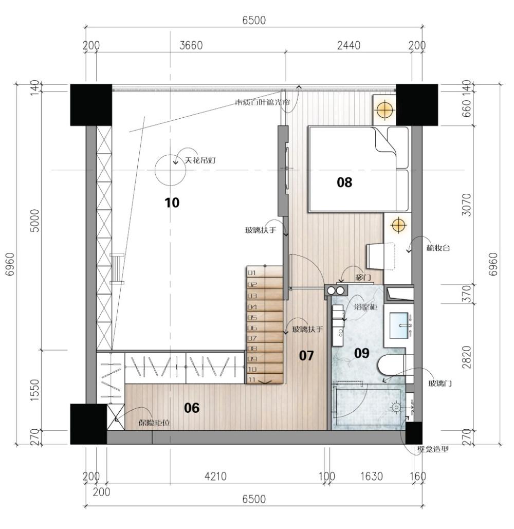 【第九期-住宅平面优化】一个40m²loft户型11个方案 投票奖励DB_09-2.jpg