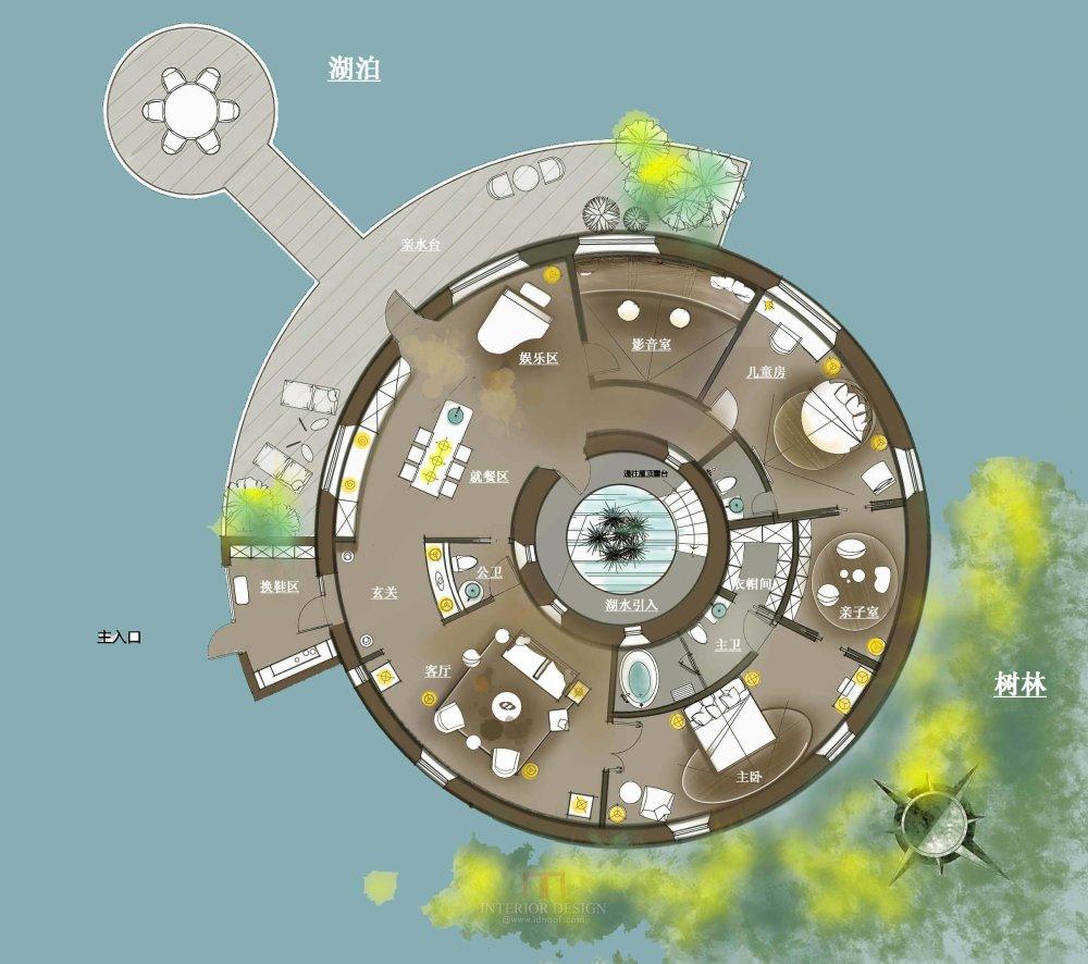 【第十期-住宅平面优化】一个圆形户型15个方案 投票奖励DB_08.jpg