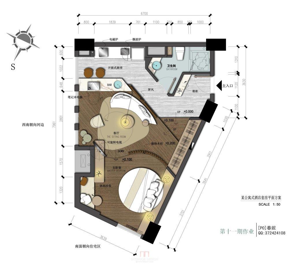 【第11期-住宅平面优化】一个异形小户型14个方案 投票奖励DB_05.jpg