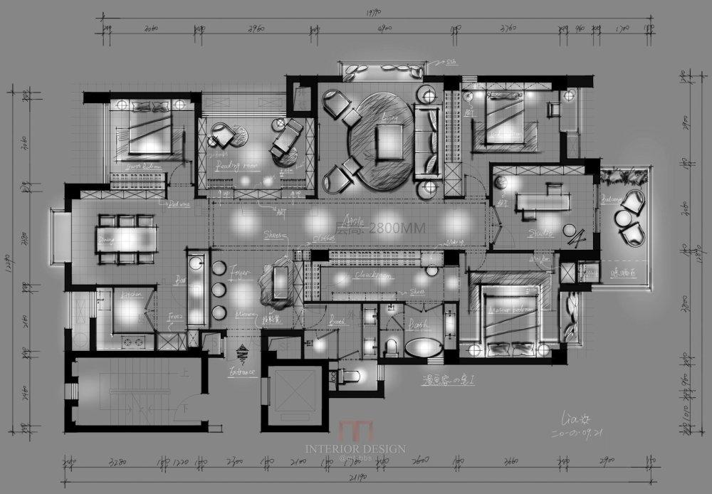 【第12期-住宅平面优化】漫画家的住宅9个方案 投票奖励DB_01.jpg