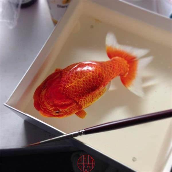 看看大师是如何画金鱼的_mmexport1413602390913.jpg