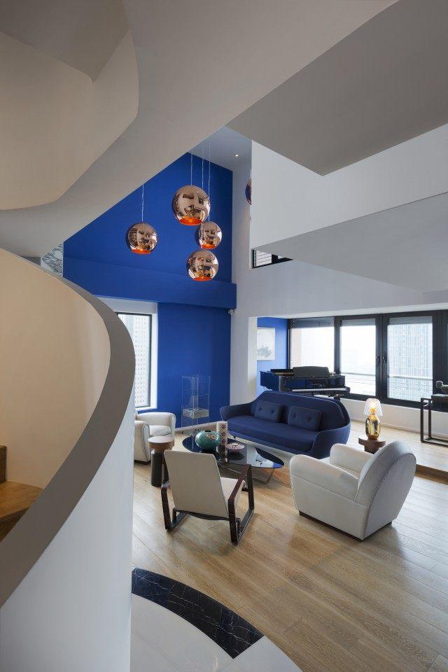 住宅——上海 Blue Penthouse公寓 (9).jpg
