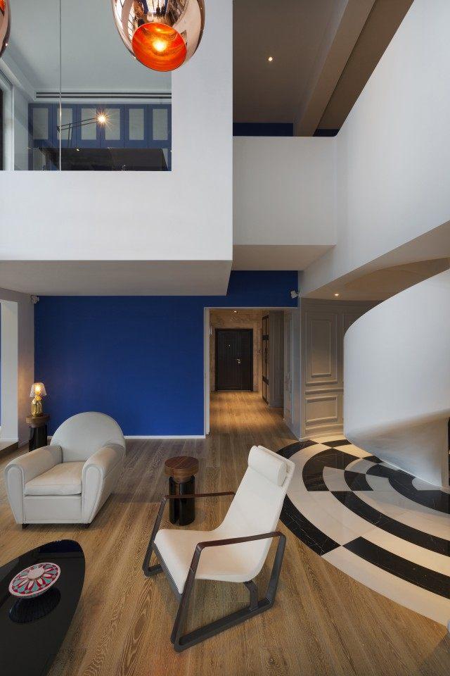 住宅——上海 Blue Penthouse公寓 (11).jpg
