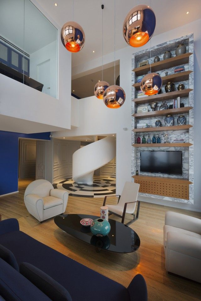 住宅——上海 Blue Penthouse公寓 (13).jpg