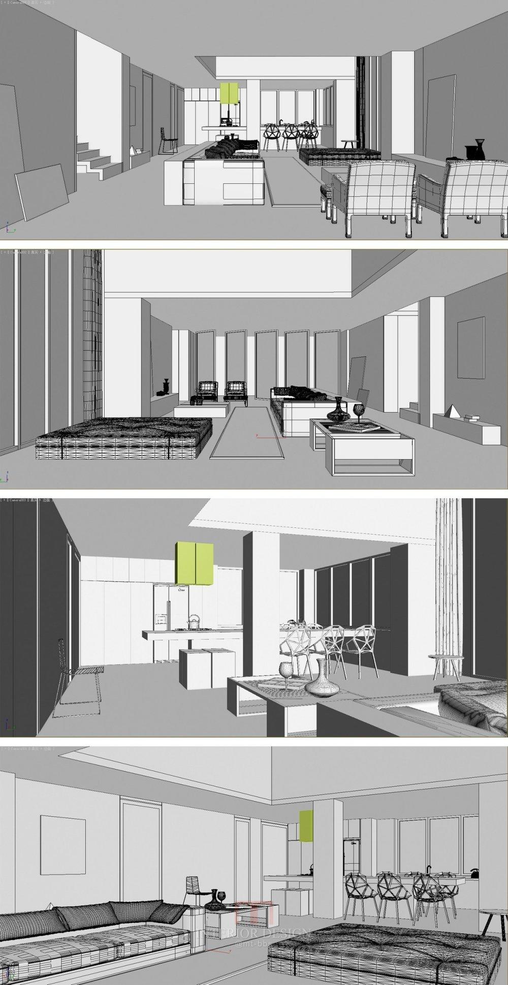 【第13期-住宅平面优化】一个390m²跃层住宅11个方案 投票奖DB_06b.jpg