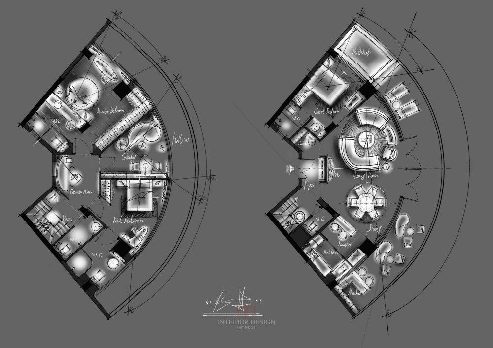 【第14期-住宅平面优化】一个跃层海景房11个方案 投票奖励DB_05.jpg