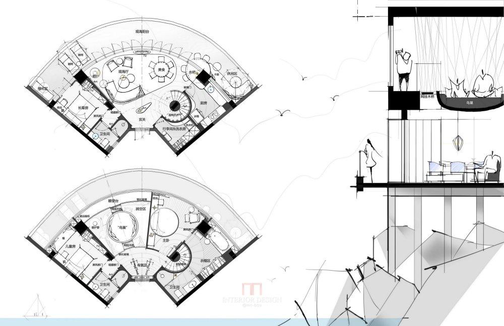 【第14期-住宅平面优化】一个跃层海景房11个方案 投票奖励DB_08.jpg