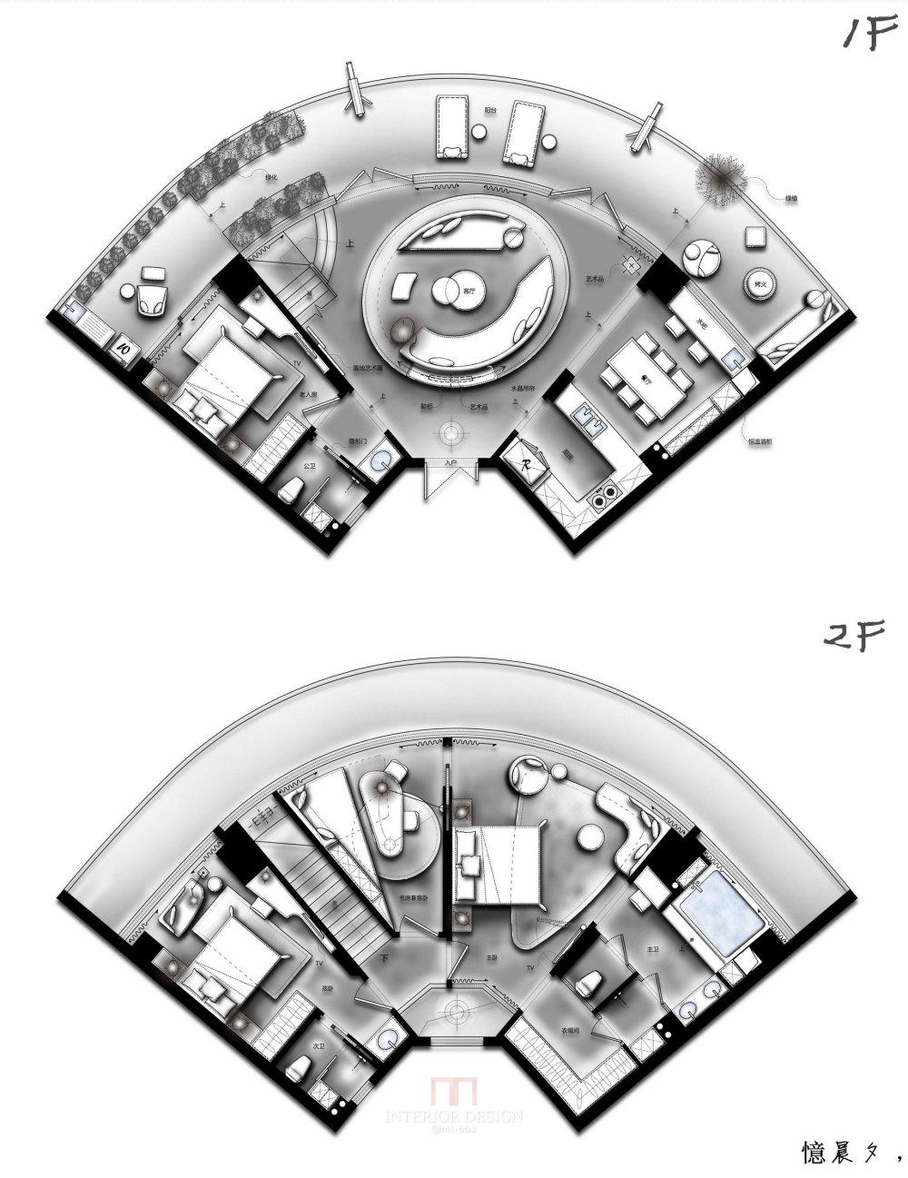 【第14期-住宅平面优化】一个跃层海景房11个方案 投票奖励DB_09.jpg