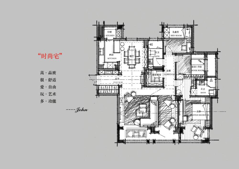 【第15期-住宅平面优化】一个150m²平层16组方案 投票奖励DB_【01】.jpg