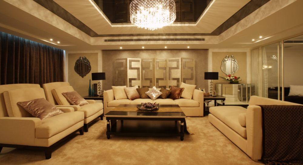 (北京)125㎡简约现代风格三居室样板房施工图_1.jpg