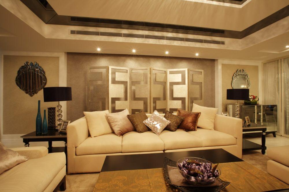 (北京)125㎡简约现代风格三居室样板房施工图_3.jpg