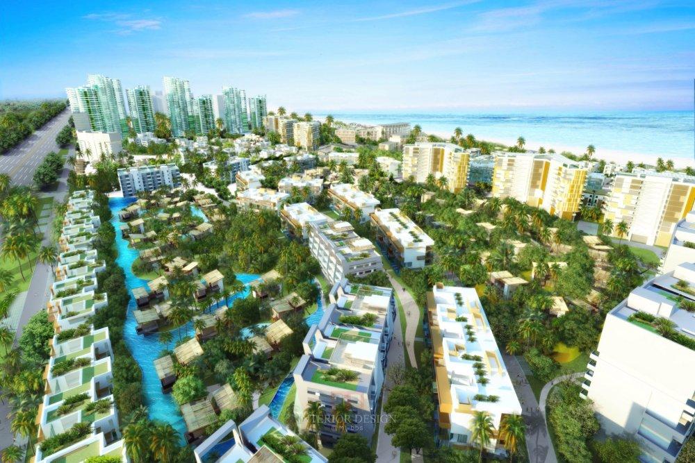 伍兹贝格建筑设计公司_Final-Aerial-low-point_BoAo-Residential-Resort.jpg