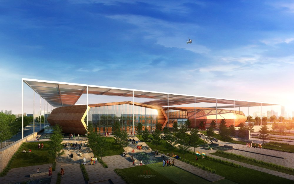 伍兹贝格建筑设计公司_India_Bhubaneswar_Convention_Center-1.jpg