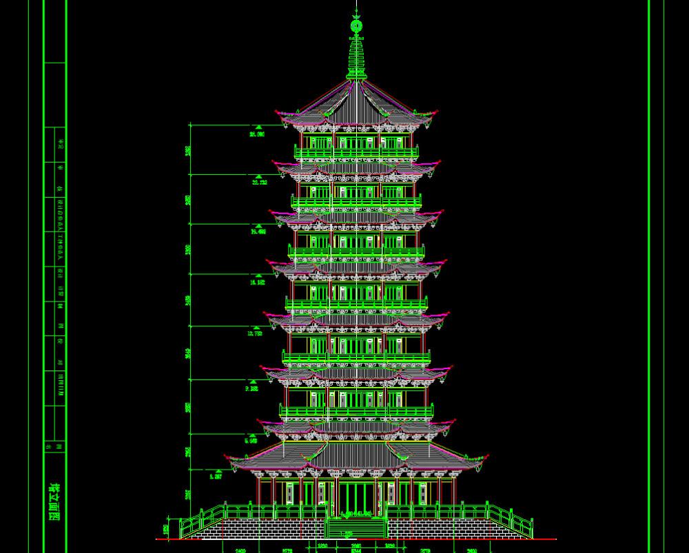 中国古代建筑CAD施工图纸源文件(非扫描) 设计素材_QQ截图20150521151946.jpg