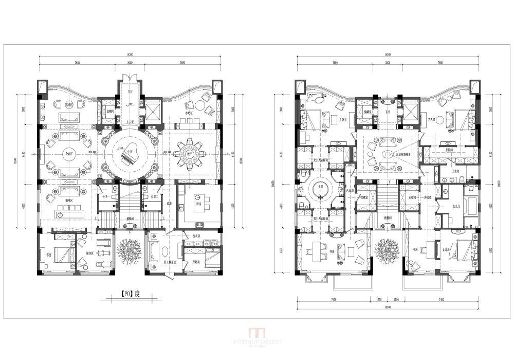【第17期-住宅平面优化】一个跃层豪宅14个方案 投票奖励DB_14.jpg
