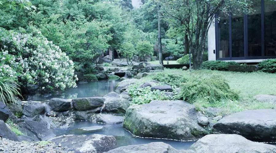 """全台湾最有江南范儿的园子_""""自己还是有对江南的渴望,会在意在走路的时候,你的视觉感官有没有在转动。"""" ..."""