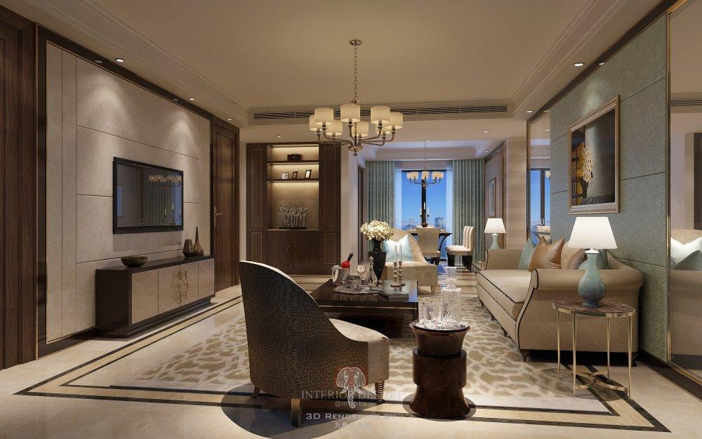 ◄◄◄最好的效果图►►►上海九象空间表现----2015 样板..._公寓样板客厅11121改 .JPG