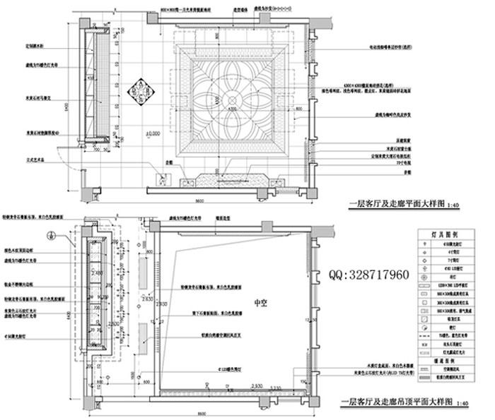 一层客厅及走廊平面大样图.jpg