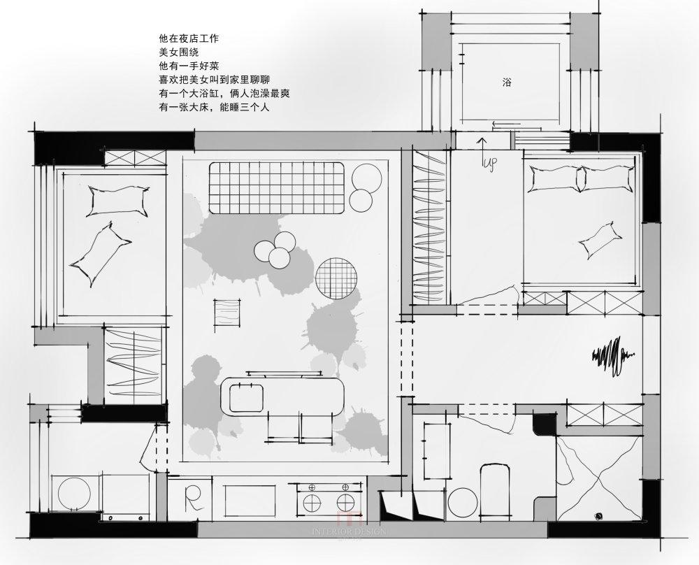 【住宅平面优化群】第二期考核 优秀作品分享_05.二期方案ks.jpg