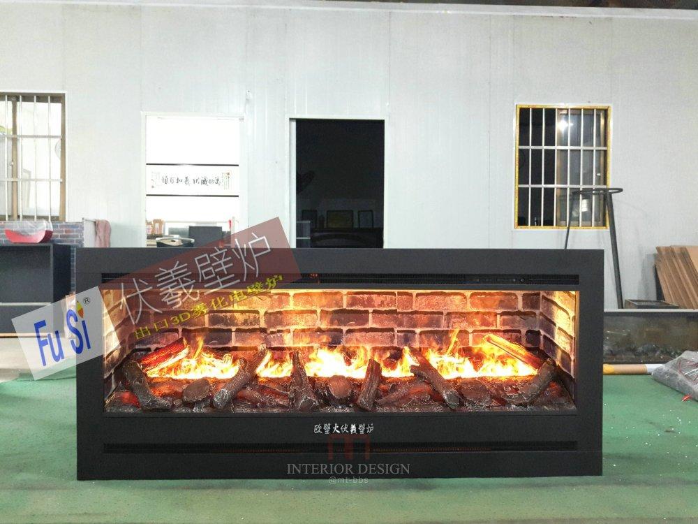 宽屏壁炉  你在暗处透射的一点炉火微光 - 与用户交流伏羲壁炉仿真假火焰的体验  仿真燃木火焰3d电壁炉 ...
